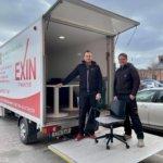 Exin flyttar tryggt och smidigt åt ditt företag.